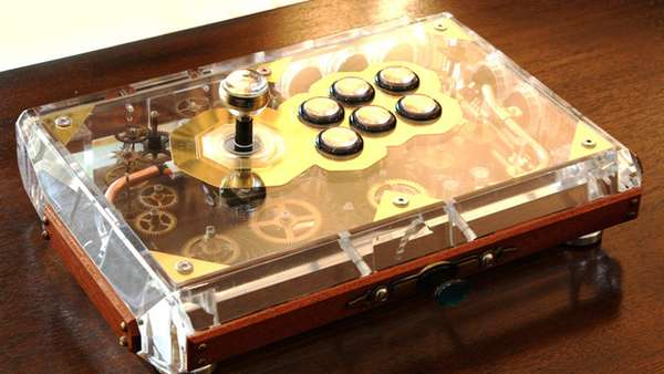Steam Punk Joysticks