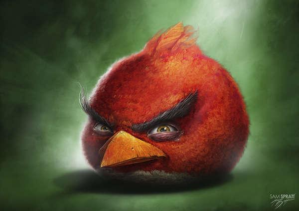 Realistic Avian App Renderings
