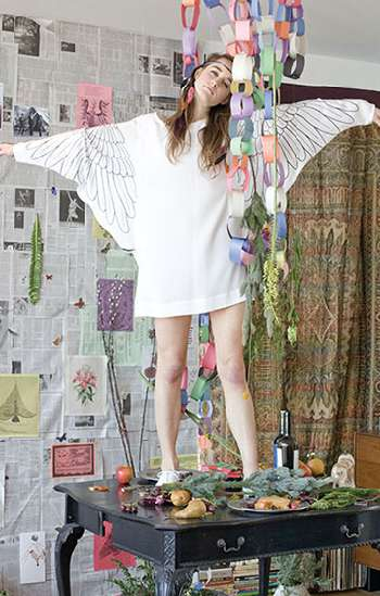 Winged Dolman Sleeves