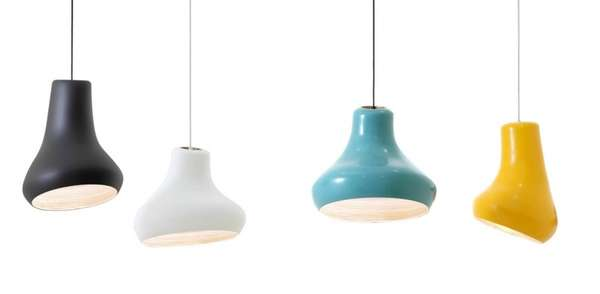 Warped Hanging Lamps