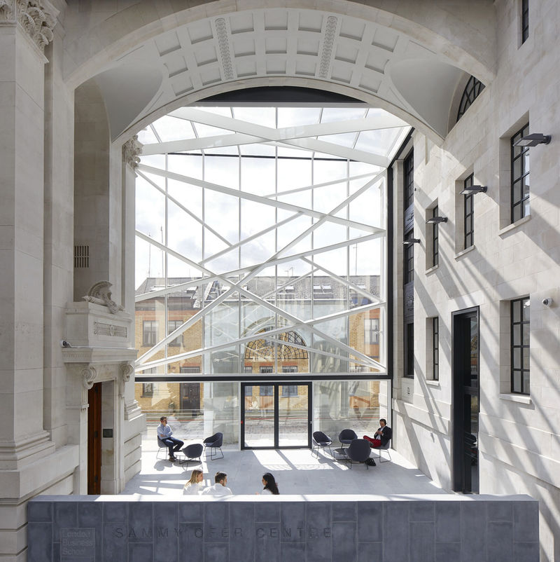 Modern Neoclassical Building Extensions