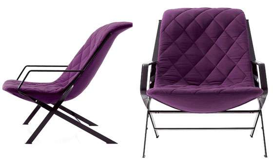 Quilted Purple Seats