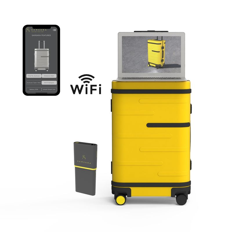 WiFi Hotspot Suitcases