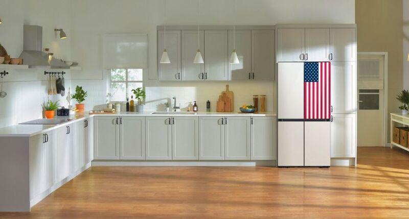 Patriotic Kitchen Appliances