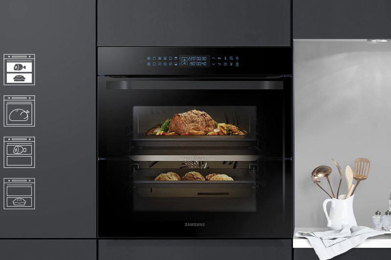 Dual Cooking Compartment Ovens