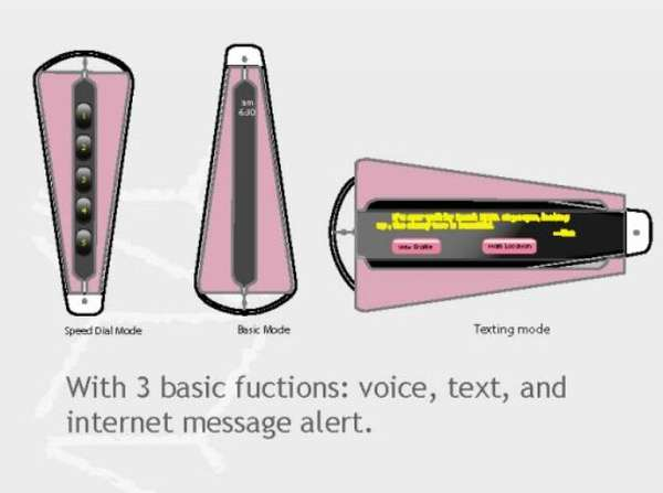 Feminine Eco Phone Concepts