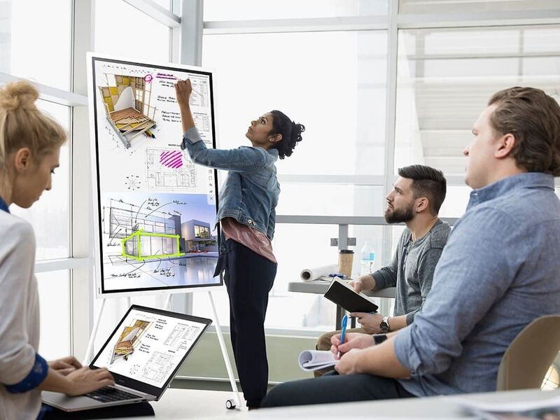 Interactive Ideation Displays