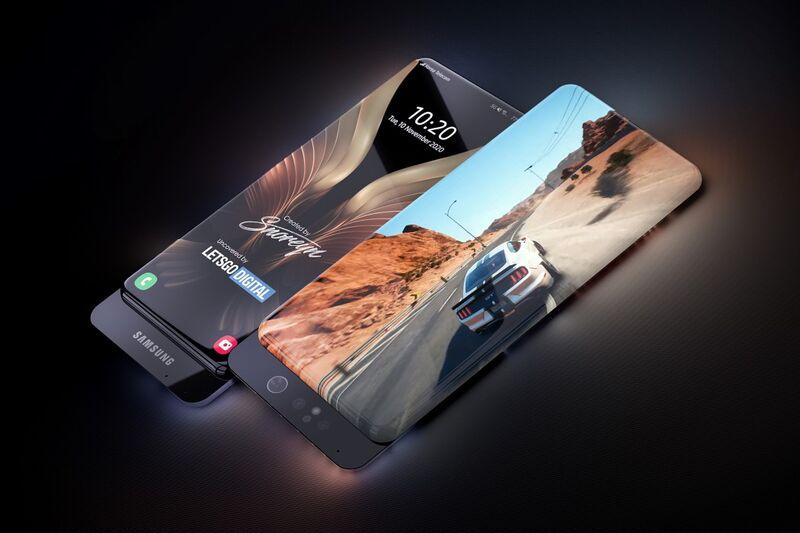 Immersive All-Display Smartphones