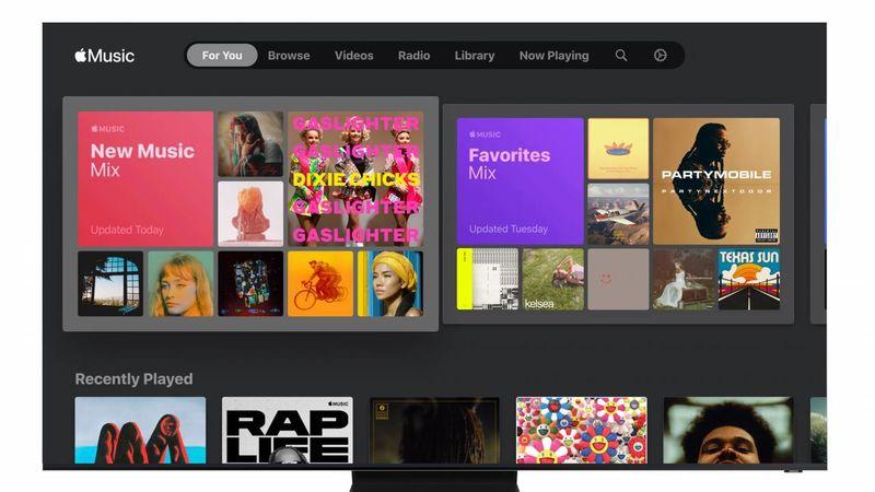 Music-Streaming Smart TV Apps