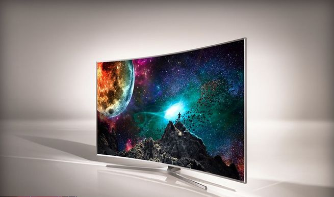 Vibrantly Curved Televisions