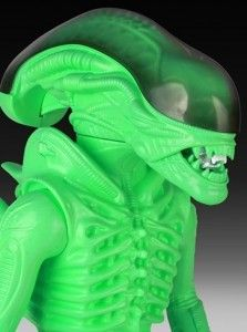 Glow-in-the-Dark Alien Toys