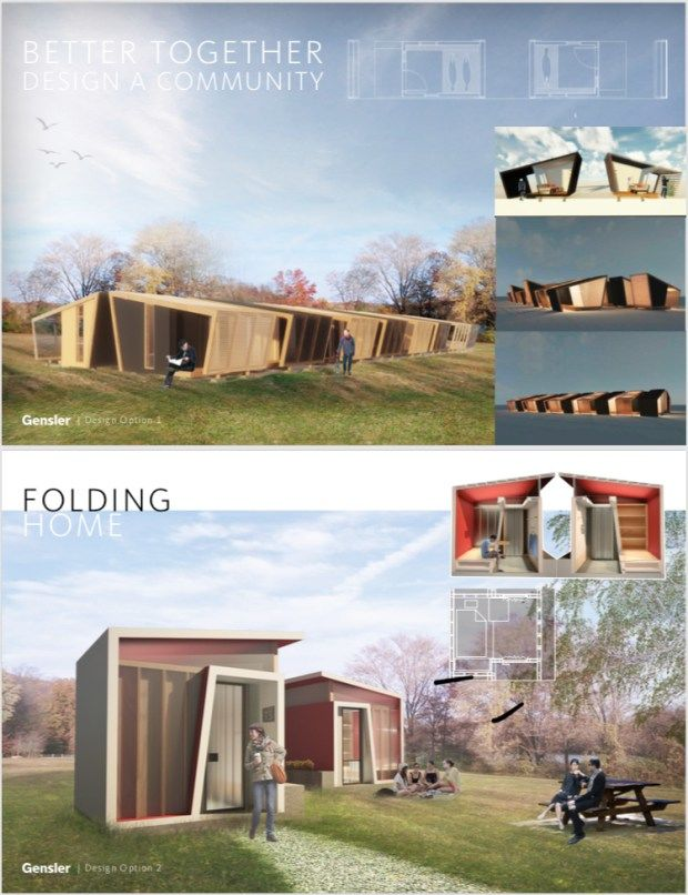 Homelessness-Combating Tiny Homes
