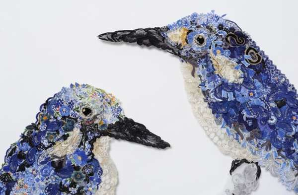 Colorful Fabric Creatures