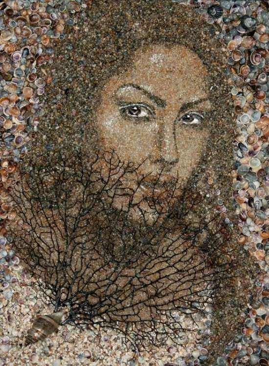 Detailed Sand Shell Portraits