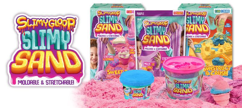 Slime-Like Sand Toys
