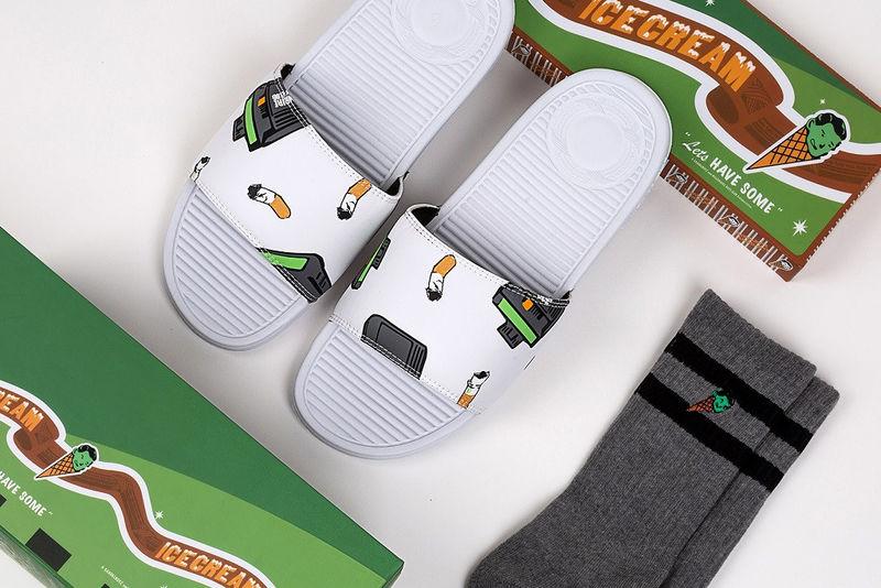 Ice Cream-Motif Sandals