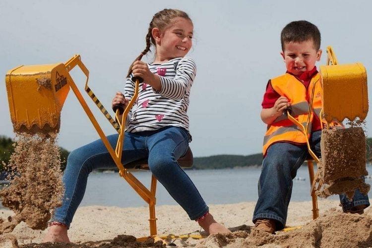 Child-Sized Excavator Toys
