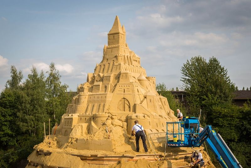 Internationally Inspired Sandcastles