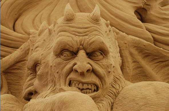 Nightmarish Sandcastles