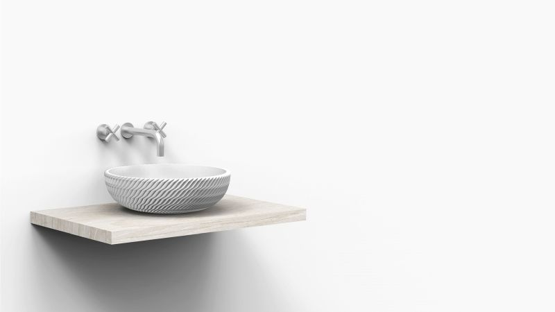 3D-Printed Sink Basins
