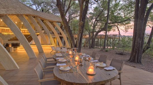 Luxurious Safari Lodges