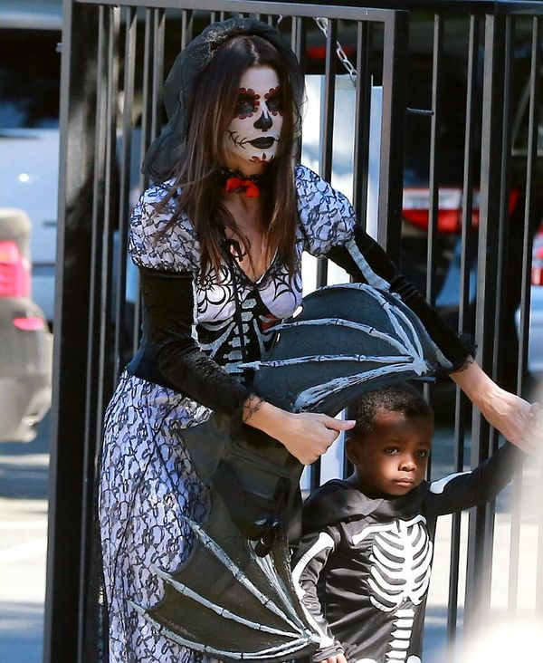 Thematic Celebrity Family Costumes