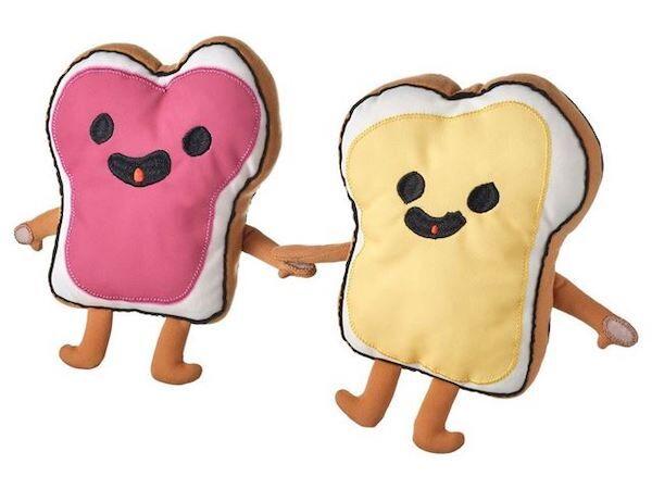 Sandwich-Inspired Plush Toys