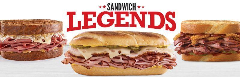 City Inspired Sandwich Menus