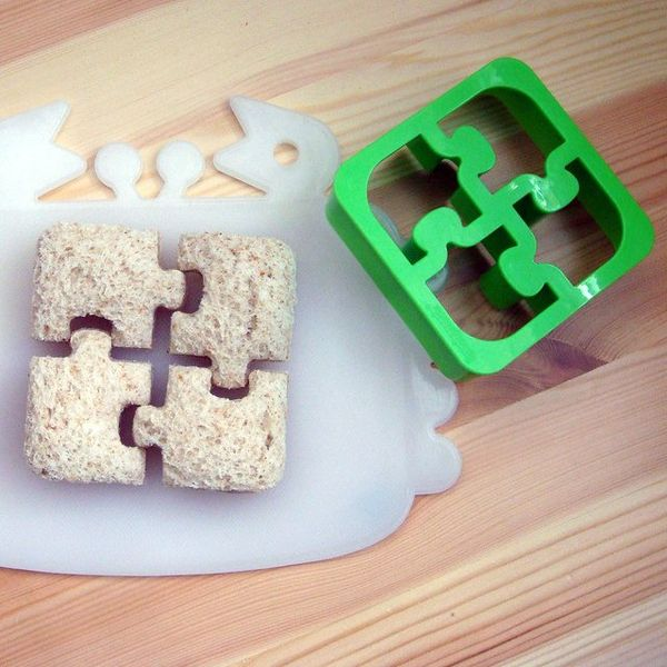 Puzzle Piece Sandwich Shapers