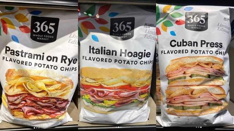 Sandwich-Flavored Potato Chips