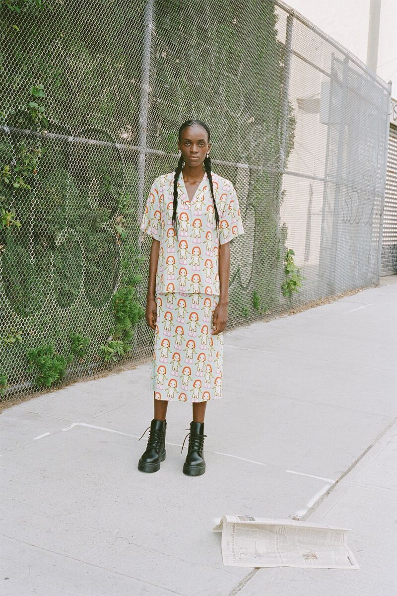 Patterned Artist-Collaborated Fashion Lines