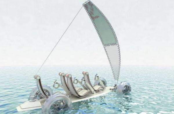 Amphibious Surfer Cars