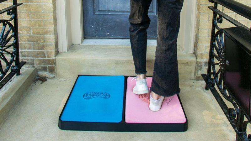 Shoe Sole-Sanitizing Doormats