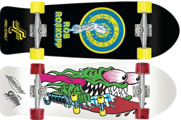 Retro Skateboard Revivals Santa Cruz