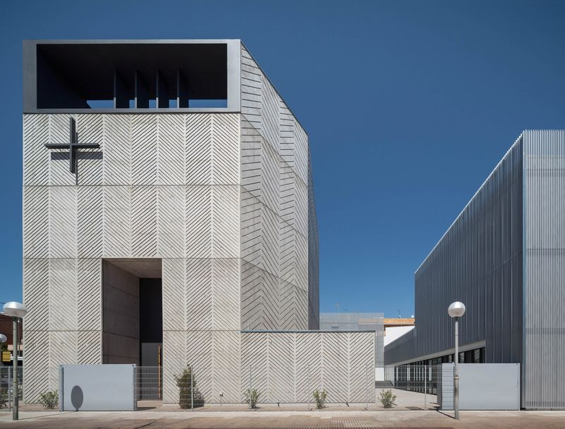 Herringbone Concrete Churches