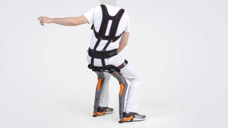 Supportive Exoskeleton Chairs