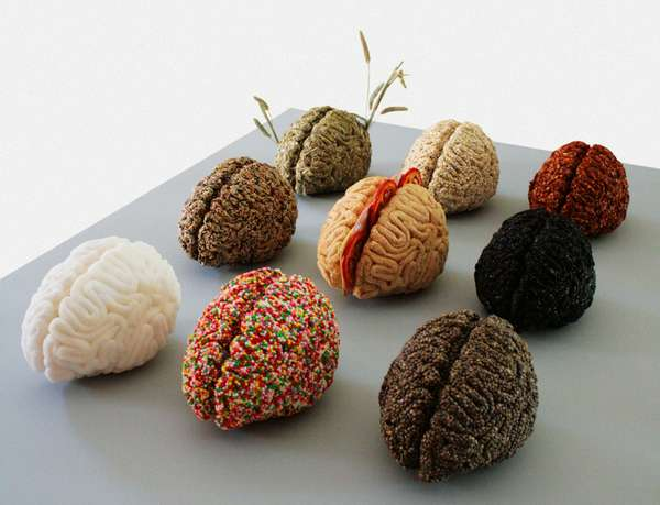 Brain Food Sculptures