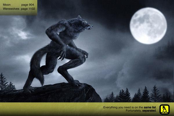 Mythological Phone Book Ads