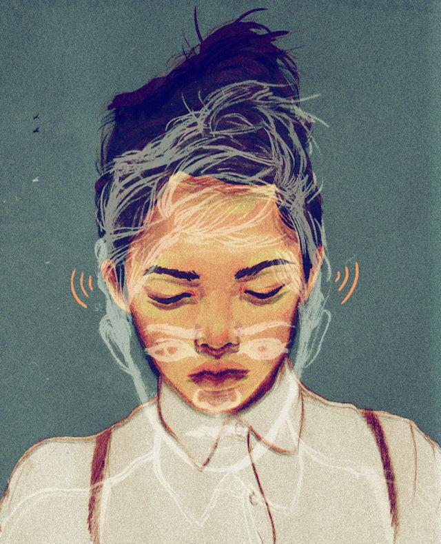Chalky Girlhood Portraits