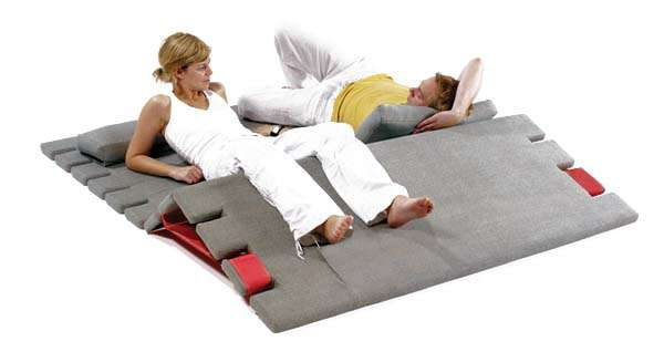 Origami Fold-Up Loungers