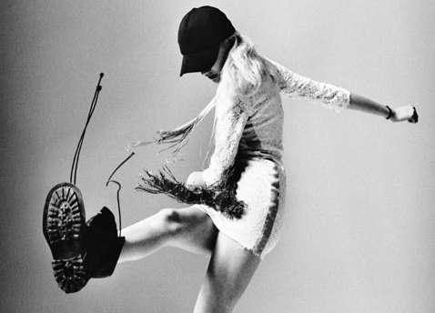 Ferocious Kickin' Fashion