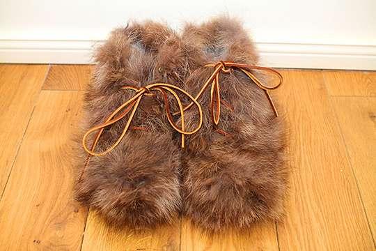 Fuzzy Furry Footwear