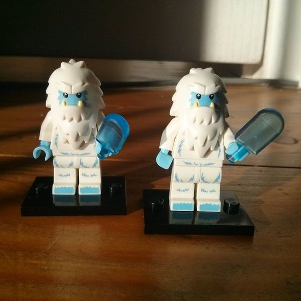 Icy Creature Block Figures