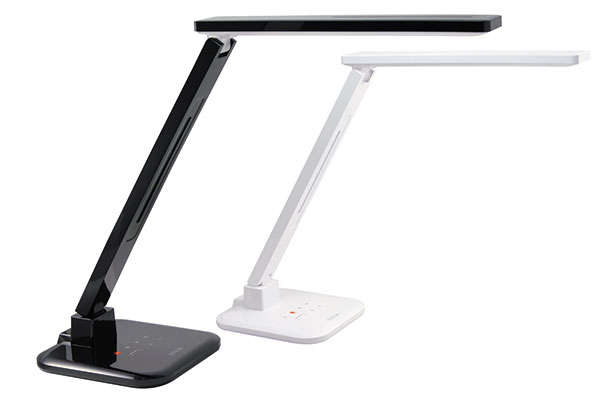 Hi Tech Desk sleek hi-tech lighting : satechi smart led desk lamp