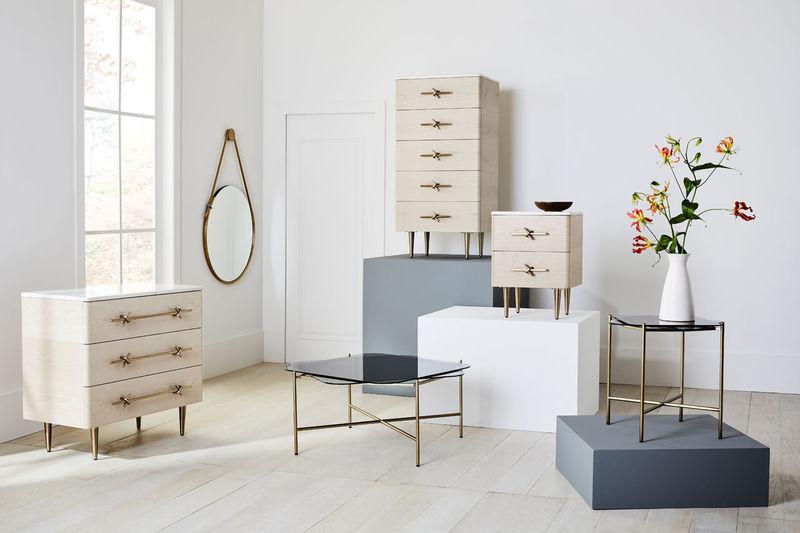 Satin Brass Furniture Collaborations