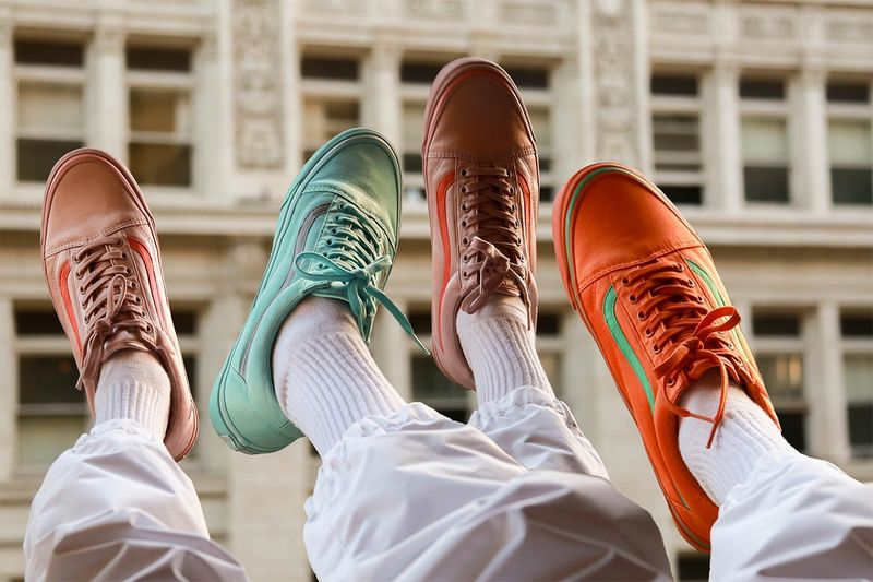 Colorful Satin Sneakers