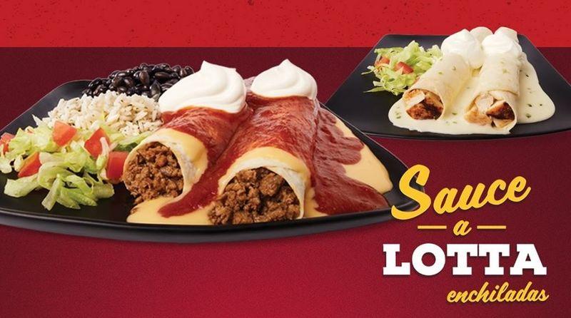 Saucy Enchilada Platters