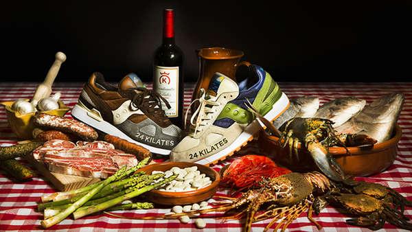 Cornucopian Food Sneaker Ads