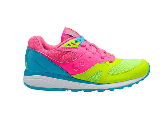 Flamboyant Neon Sneakers