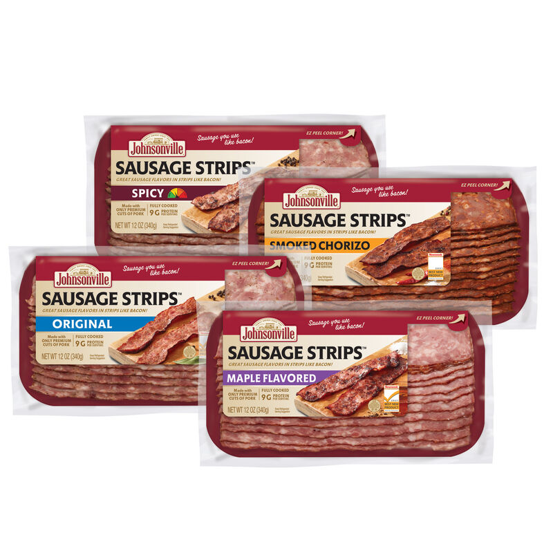 Bacon-Style Sausage Strips